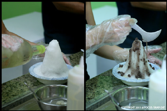 Tackling the Mountain of Shaved Ice at Ailana | Focus: Snap: Eat