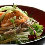 Light noodle salad for summer