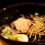 Burnt Miso Ramen ($16) with tender Llano Seco chashu and salt-cured egg