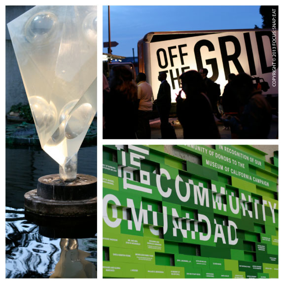 The Oakland Museum of California provided a fun and creative environment for Off The Grid