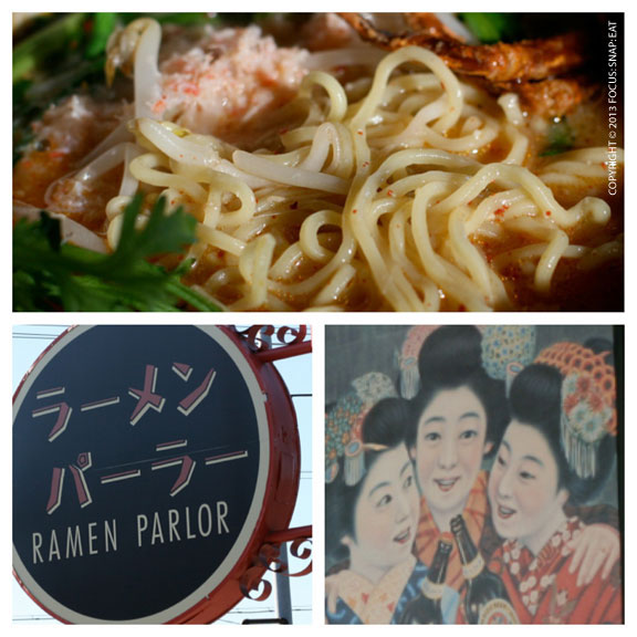 Ramen Parlor is from the same people behind Santa Ramen and Dojo Ramen, all in San Mateo