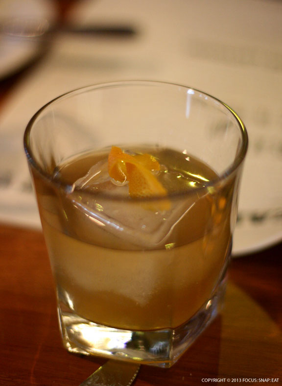The Front Page ($11) is a drink made with Wild Turkey