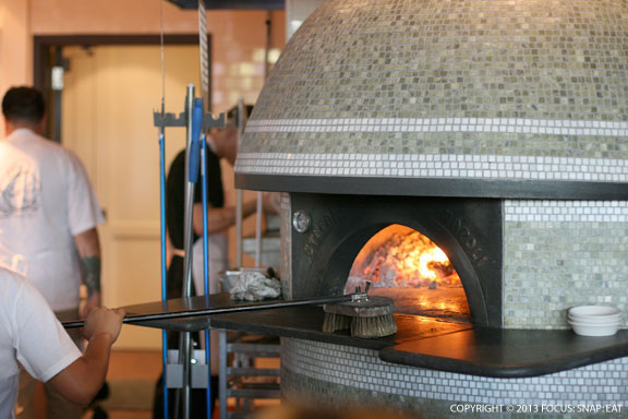 Every pizza restaurant these days seem to be importing these mosaic-tiled ovens from Naples, Italy.