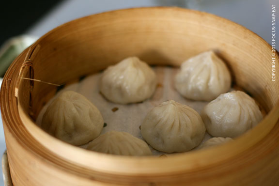 Juicy pork soup dumplings ($6.99) had tasty soup and satisfying pork filling.
