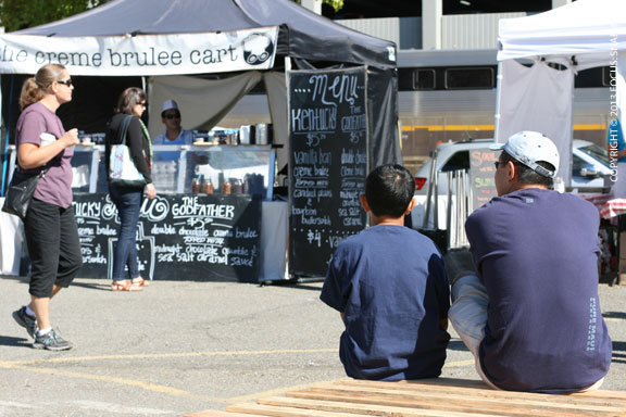 Eat Real Fest had perfect weather and made it an enjoyable day for families