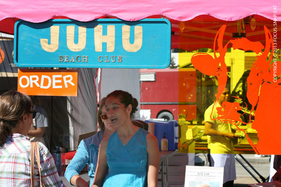 Some of the new restaurants joining the festival lineup was Juhu Beach Club, which had a really colorful booth