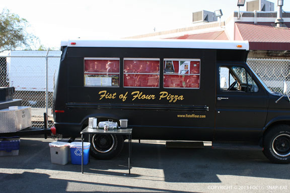 Fist of Fury Pizza was also there to offer up pizza, mostly for the kids who didn't want a whole pig