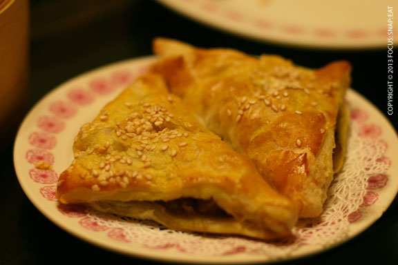 These curry turnovers had a great curry filling and flakey shell.
