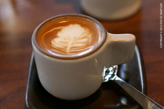 A cup of macchiato was a nice way to end my weekend brunch at Nopa