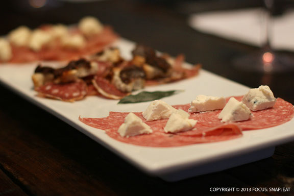 Stop 2 was at Portolupi wine-tasting room, owned by a husband and wife who treated us to red wine tasting paired with these delicious local charcuterie and cheese.
