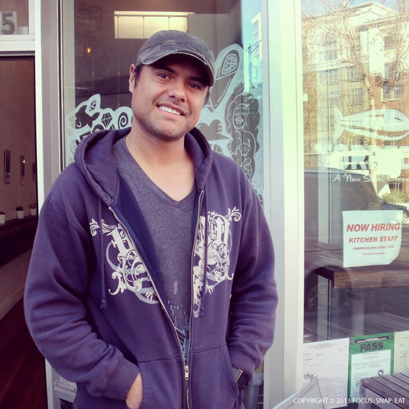 Luis Sanchez moved to the Bay Area for love, and opened Torpedo because of his love of sushi