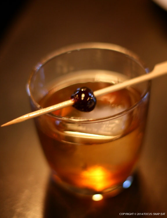 The Victorian ($12) is one of the specialty cocktails blending whisky and Earl Grey tea.