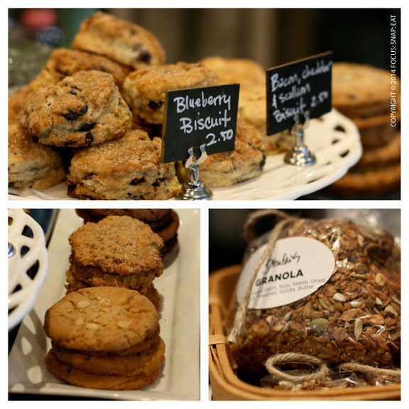 Other goods include cookies and home-made granola.