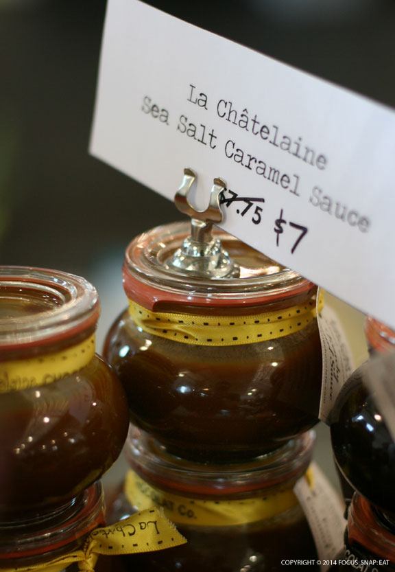 Caramel sauce are also available, such as these from La Fontaine