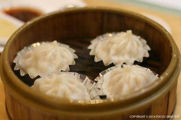 Xiao Lung Bao or Shanghai soup dumplings ($5.25) are done well