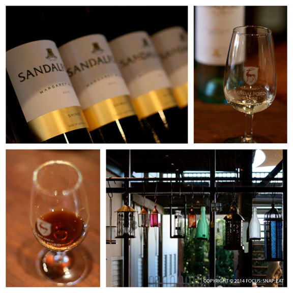 The wine and tasting room at Sandalford Wine