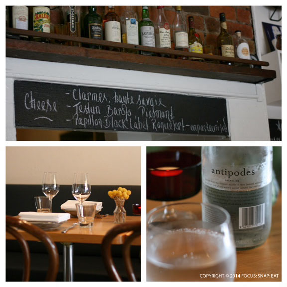 The Commoner has a relaxing decor with every detail accounted for, such as the beautiful bottled water