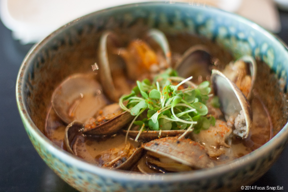 Miso Asari Clams ($8.50) was my least favorite dish, while ironically Michael Bauer of the Chronicle named it one of his favorite dishes from a Top 100 restaurant. Oy.