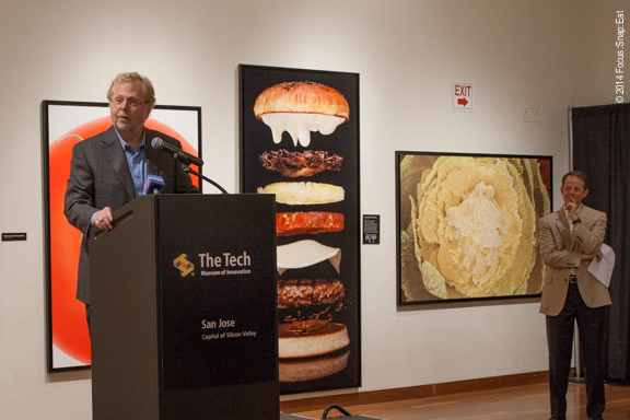 Nathan Myhrvold talks about his photographs that make up the new special exhibit.