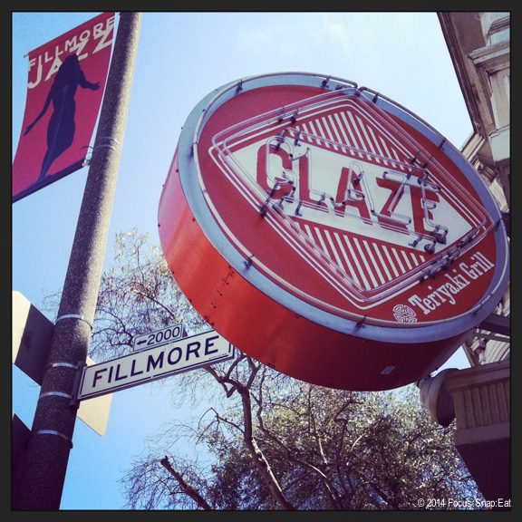 Glaze is a small chain from New York that opened its first San Francisco location last year on Fillmore Avenue.