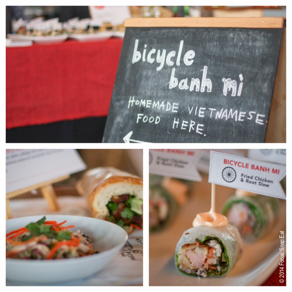 I liked the display by Bicycle Banh Mi.