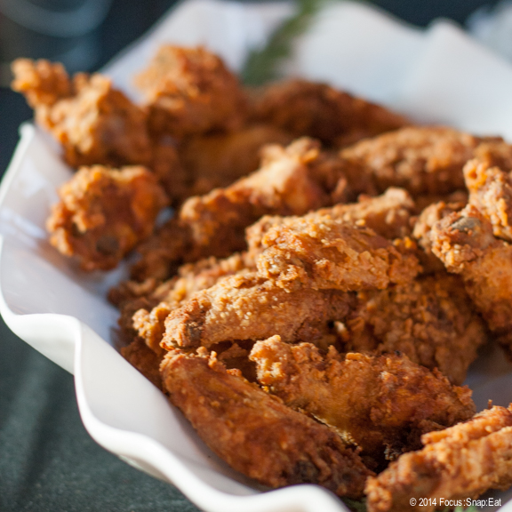 Everyone went crazy (except me) when Minnie Bell's Soul Movement put out this platter of rosemary fried chicken.