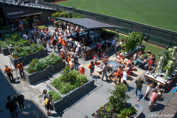 The Garden is a fun new addition to AT&T Park.