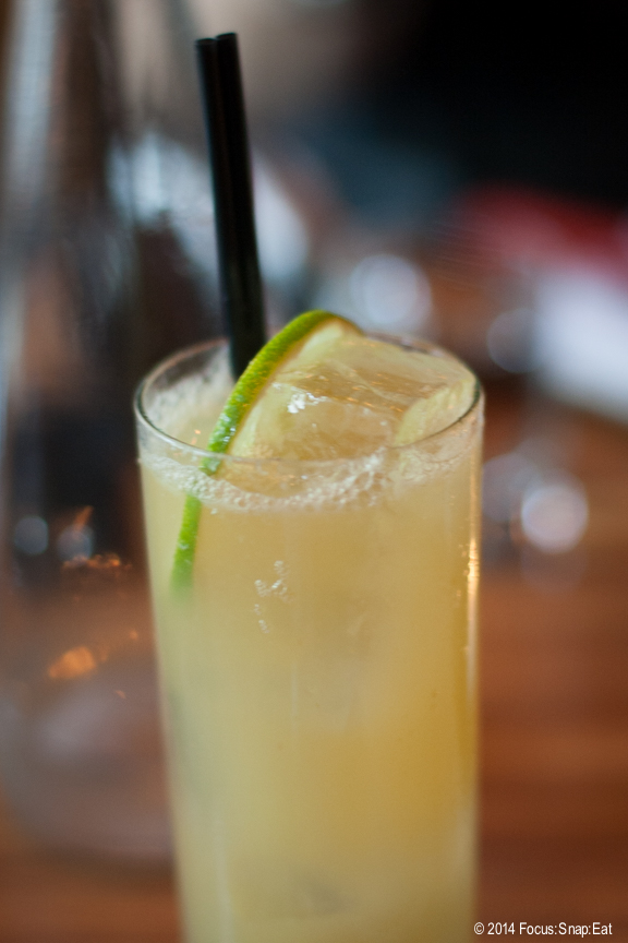 Mule by Any Other Name ($11) made with bourbon, lime and PB ginger beer.