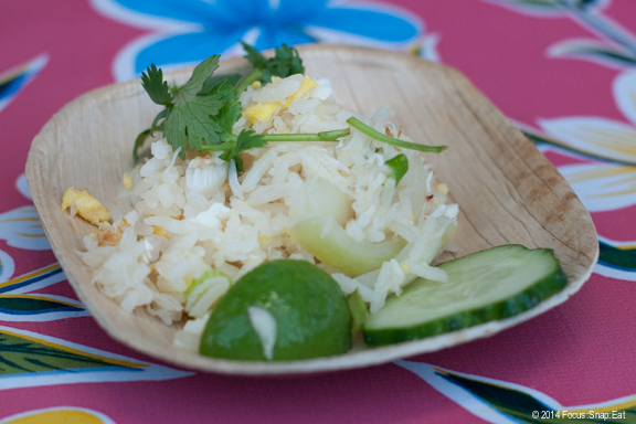 The Khao Phat Buu from Pok Pok, a stir-fried jasmine rice dish with crab. It might have been a simple fried rice, but packed with flavor and nice with the twist of lime and cucumber.