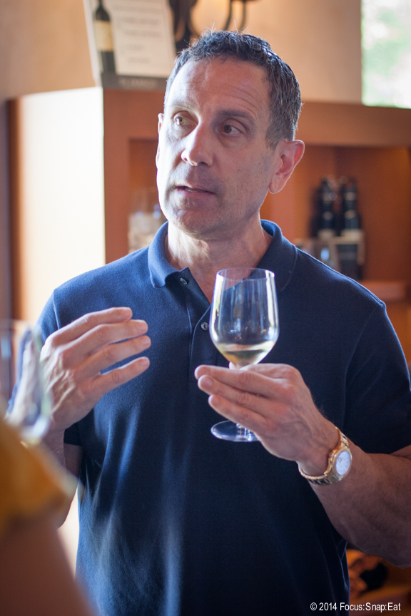 Christopher Silva, president and CEO of St. Francis Winery, talks about the chardonnay we tasted.