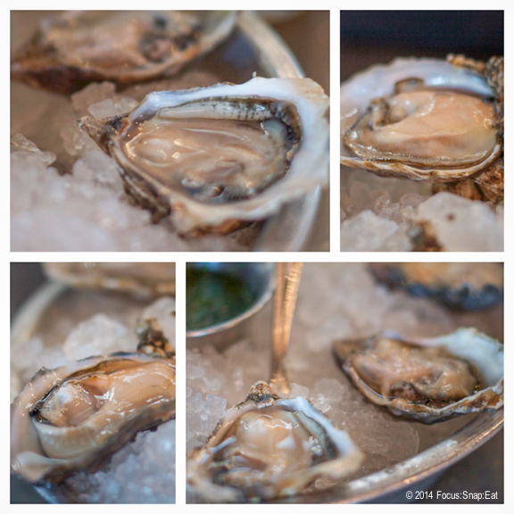 Fresh raw oysters are always a good bet. I got half a dozen once ($20) trying smaller oysters called kyushu and then another variety known as Sea Cow from Washington state.