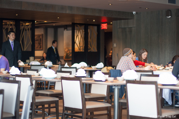 Crystal Jade's first U.S. restaurant is a large 200-seat dining room in the Embarcadero Center.