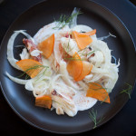 Getting Cheffy with My Dungeness Crab with Fennel and Persimmons Recipe