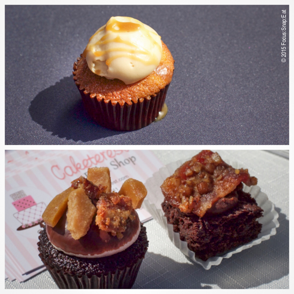 Cupcakes and bacon brownies