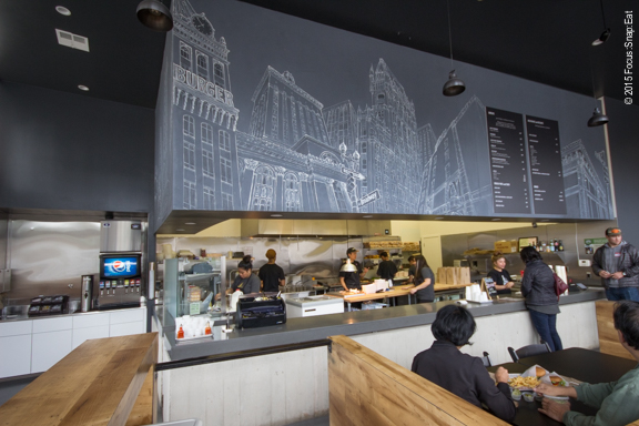 A review of trueburger s new broadway location in oakland for 111 broadway 2nd floor