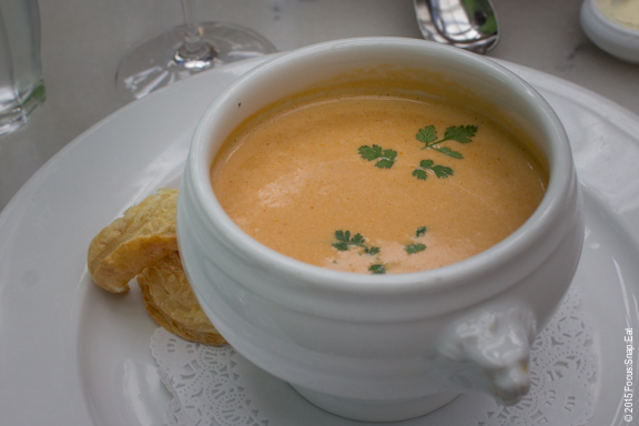 Daily special: lobster bisque ($16)