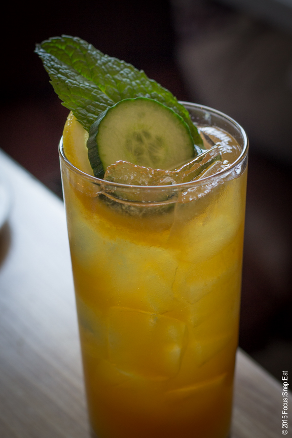 Pimm's Cup ($12) is always refreshing for a warm Sunday.