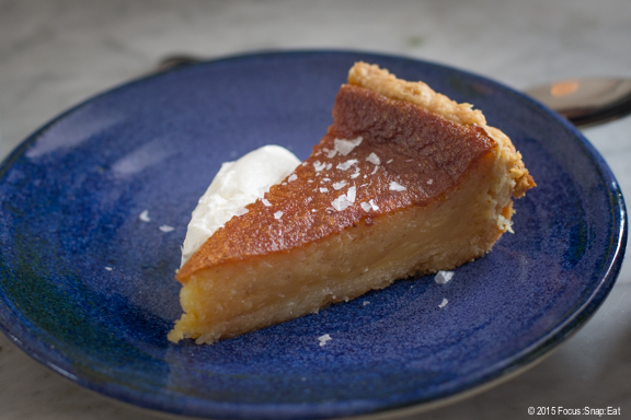 """The girls went wild for the """"honey pie"""" that had a strong honey essence with a slight nutty taste. The texture reminded me of mochi (the Japanese sticky rice cakes)."""