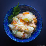 Potato Salad with Uni (Sea Urchin) Recipe