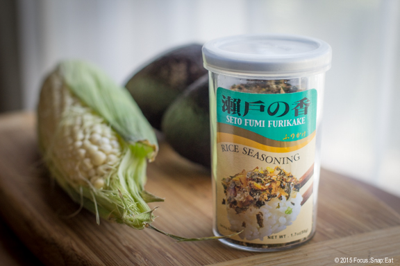 Furikake is dried seasoning that comes in a variety of flavors.