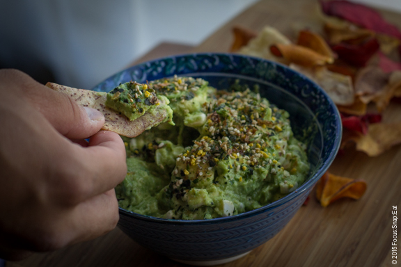 Quick and simple guacamole for summer