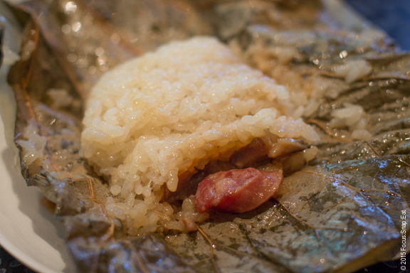 Abalone, chicken sticky rice in lotus leaf ($6.88), was tasty and cooked nicely but I don't think I noticed the abalone.