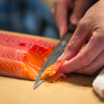 Signature Dish: Shotaro Kamio's Beet-Cured Ocean Trout at Iyasare