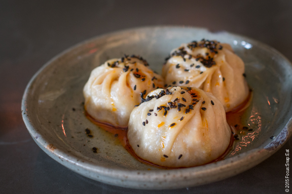 pork and shellfish dumplings