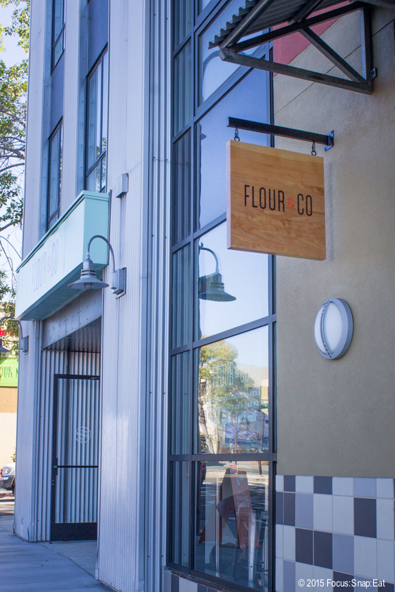 Flour and Co. opened in the former Bread Workshop on University Avenue.