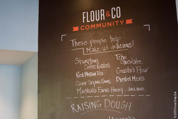 Some of Flour and Co.'s partners.