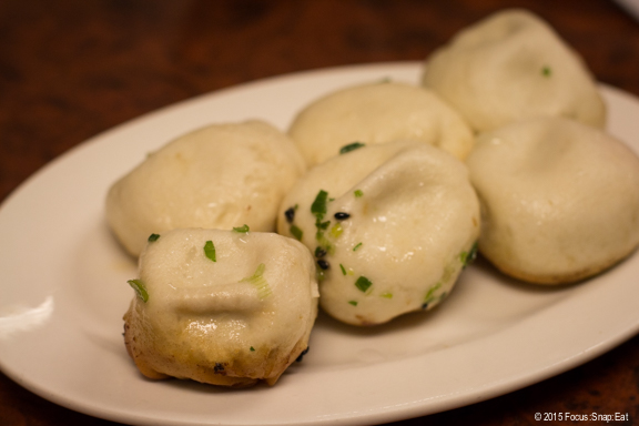 pan-fried pork buns