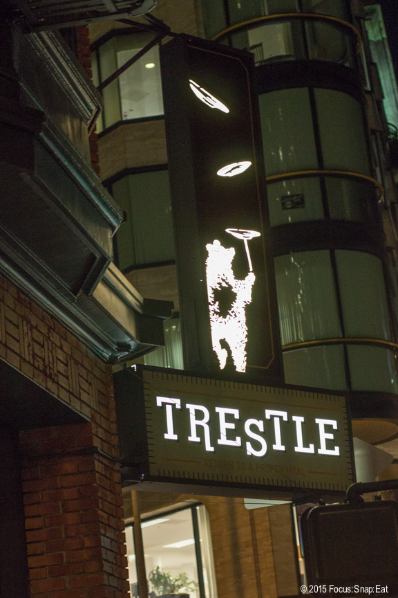 Trestle is on the edge of Jackson Square in San Francisco's Financial District.