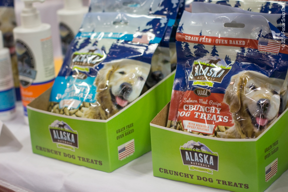 This was one of the few booths selling dog treats. They used Alaska fish such as salmon to create treats for your buddy.
