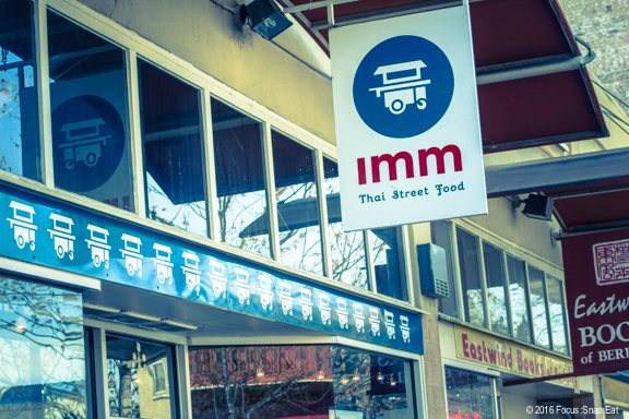 Imm Thai on University Avenue has some different dishes you won't typically find at Thai restaurants.